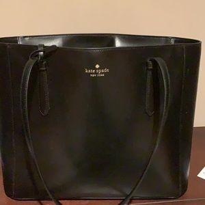 Kate Spade black tote handbag
